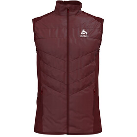 Odlo Irbis X-Warm Hybrid Vest Seamless Men syrah-fiery red